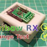 Тест на дальность Rainbow RX